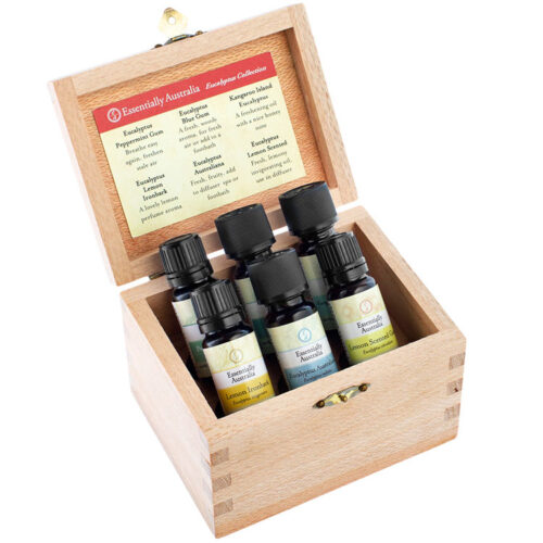 Eucalyptus Collection - Essential Oil Box, Australian eucalyptus essential oils, eucalyptus oil box set