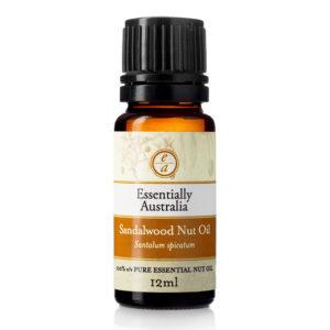 sandalwood nut oil, best hair oil, australian essential oils, best carrier oil, beauty oil, natural face oil, anti-ageing face oil