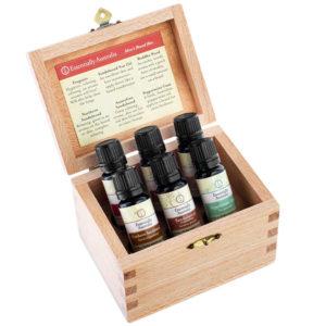 Men's Beard Box Essential Oil Box Set