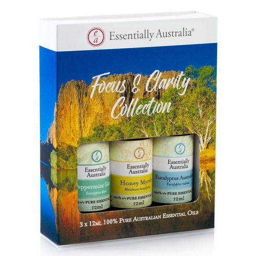 Focus & Clarity Collection Essential Oil Gift Pack, essential oil gift pack