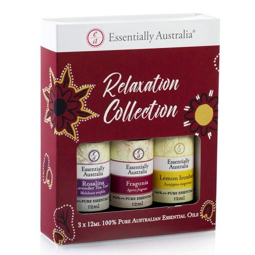Relaxation Collection Essential Oil Gift Pack, essential oil gift pack, Australian Essential Oils