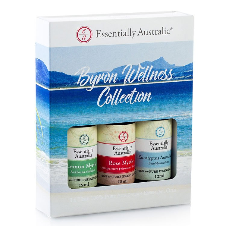 Byron Wellness Collection Essential Oil Gift Pack, Australian Essential Oils gift pack