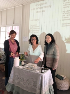 Deby Atterby aromatherapy training